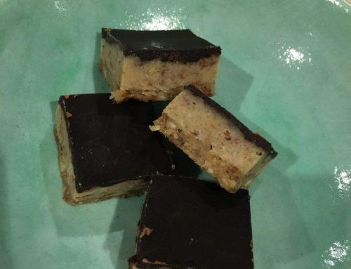 Raw Caramel Slice